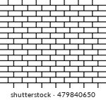 brick wall background   vector | Shutterstock .eps vector #479840650