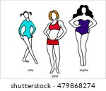 ayurveda doshas. ayurvedic body ... | Shutterstock .eps vector #479868274