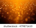 Abstract Autumn Orange And...