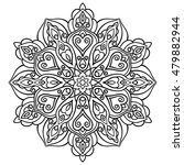 mandala. ethnic decorative... | Shutterstock .eps vector #479882944