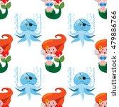 seamless pattern for design...   Shutterstock .eps vector #479886766