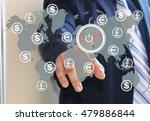 businessman pressing 2017 on...   Shutterstock . vector #479886844