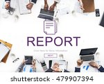 report digital homescreen... | Shutterstock . vector #479907394