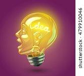 idea lightbulb | Shutterstock .eps vector #479910046