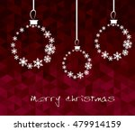 christmas snowflakes background ... | Shutterstock .eps vector #479914159