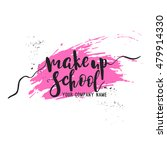 make up school logo idea with... | Shutterstock .eps vector #479914330