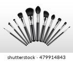 vector set of black clean... | Shutterstock .eps vector #479914843