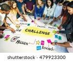 plan process strategy challenge ... | Shutterstock . vector #479923300