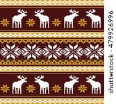 scandinavian style seamless ... | Shutterstock .eps vector #479926996