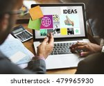 ideas thumps up mission...   Shutterstock . vector #479965930