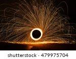Steel Wool Spinning  Fire...