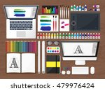 graphic and web design... | Shutterstock .eps vector #479976424