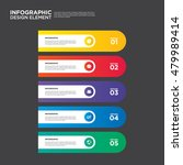 infographic business report... | Shutterstock .eps vector #479989414