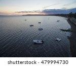Sailboats  Fishing Boats In...