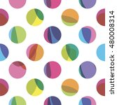 seamless pattern with color... | Shutterstock .eps vector #480008314