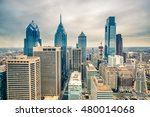 downtown skyline of... | Shutterstock . vector #480014068