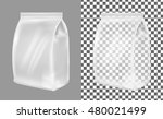 transparent plastic or paper... | Shutterstock .eps vector #480021499
