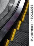 escalator. close up to... | Shutterstock . vector #480023098