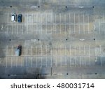 empty parking lots  aerial view. | Shutterstock . vector #480031714
