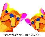 dog  vector  breed  cute  pet ...   Shutterstock .eps vector #480036700