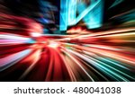 Small photo of Colorful acceleration speed motion background