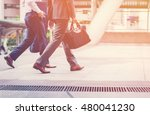 business was slow to walk. the... | Shutterstock . vector #480041230