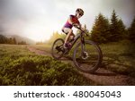 Sport. Mountain Bike Cyclist...