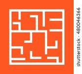 maze | Shutterstock .eps vector #480046366