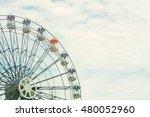 ferris wheel  | Shutterstock . vector #480052960