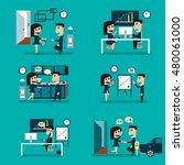 business concept  | Shutterstock .eps vector #480061000