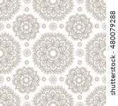 christmas seamless pattern.... | Shutterstock .eps vector #480079288