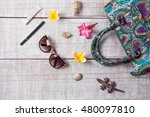 fashion women accessories.... | Shutterstock . vector #480097810