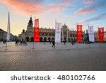 krakow  poland   april 03  2015 ... | Shutterstock . vector #480102766