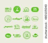 set of elements for design  ... | Shutterstock .eps vector #480105040
