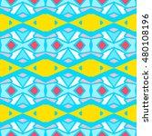 geometric seamless pattern.... | Shutterstock .eps vector #480108196