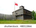 Old Fort Western Blockhouse