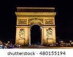 paris  france  september  arc... | Shutterstock . vector #480155194