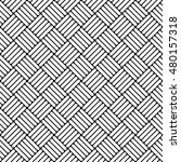 black and white simple woven... | Shutterstock .eps vector #480157318