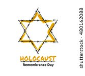 holocaust remembrance day  may... | Shutterstock . vector #480162088