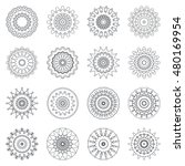 design elements set. 16... | Shutterstock .eps vector #480169954