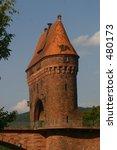 historic bridge gate | Shutterstock . vector #480173