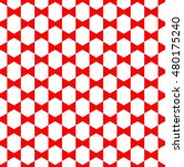 Red Bow Ties Pattern  Simple...