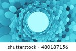 3d render abstract background.... | Shutterstock . vector #480187156