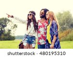 nature  summer  youth culture... | Shutterstock . vector #480195310