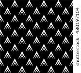 black and white geometric... | Shutterstock .eps vector #480197104