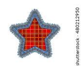 Christmas Star Shape Vector...