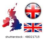 united kingdom  england flag ...   Shutterstock .eps vector #48021715