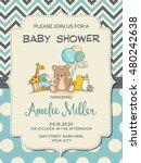 Beautiful Baby Boy Shower Card...