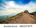 Vesuvius Path Around Crater ...