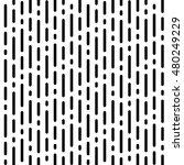 vector monochrome seamless... | Shutterstock .eps vector #480249229